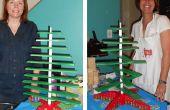 Uw eigen houten kerstboom maken
