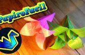 Hoe maak je een origami lilium bloem