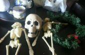 De kroon van de schedel van de Halloween
