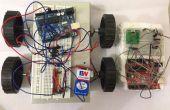 Gebaar gecontroleerd robot met behulp van Arduino