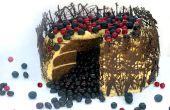 Rebel Cake van het fluweel (veganistisch)