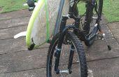 De verwisselbare PVC buis fiets surfrack