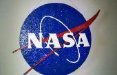 Handgemaakte 3D NASA licht