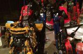 Film nauwkeurige Optimus Prime (met blauwe LED's)