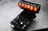 Arduino Powered Nixie buizen: ArduiNIX Nixie stuurprogramma schild assemblage