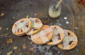 Wat als u een Bierpul gemaakt van gerecycled Coasters