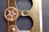 Hoe om te Steampunk versieren een elektrische wandplaat