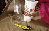 Hoe maak je een Sealed Container uit een kopje Soda en fles