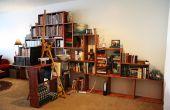 Hoe maak je een boekenplank berg!