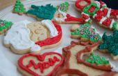 Vakantie suiker koekjes met Royal Icing
