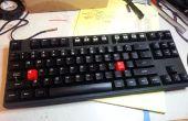 Caps Lock aan controle: Hardware niveau mechanische toetsenbord mod