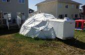 24 voet, 3V geodetische EMT Dome