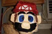 Candy gevuld hoofd van Mario