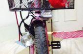 LED fiets licht omzetten in oude dynamo koplamp