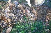 Gemakkelijk blad grab en mulch