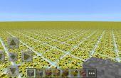 Hoe maak je aangepaste flatland kaarten in minecraft pe 0.9.5 en hieronder op android