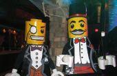 Lego Man kostuum - Minifiguren - Lego goochelaar en Lego Sir