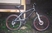 Zelfgemaakte Carbon Fiber Mountain Bike