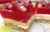 Granaatappel Jello Cheesecake