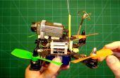 250g sub FPV Quadcopter met meer dan 11 minuten vliegtijd