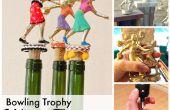 Trofee wijnfles Toppers