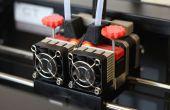Verstelbare Extruder aandrijving blok Upgrade voor Replicator 2 X