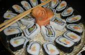 Hoe maak je heerlijke Sushi Rolls in uw keuken