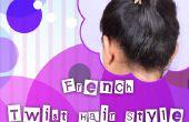 Franse Twist haar stijl Tutorial voor Beginners!