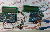 NRF2L401 Wireless PC Data Transmission System met Arduino