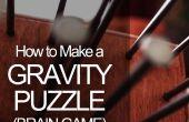 Hoe maak je een puzzel van de zwaartekracht (Brain Game)