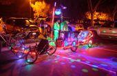 Bubbletrain met 16 monkeylights door Sheldon Hambrick