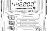Het opzetten van een VX-6 ham radio voor de beginner