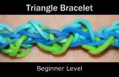 Rainbow Loom driehoek armband