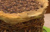 314 laag Chocolade-hazelnoot Baklava Pi(e)