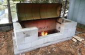 Grote Rotisserie Pit BBQ-
