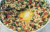 De beste pasta Salade recept met kleine geschilde pasta