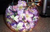 Bloemen licht meubilair