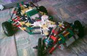 Knex buggy onafhankelijke ophanging en stuurinrichting