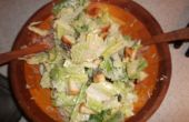 Caesar(ish) avondmaal salade