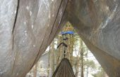 De hangmat hut: een makkelijk te maken hangmat regen-fly