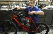 79cc gemotoriseerde fiets vanaf nul