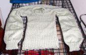 Het recyclen van een oude trui (of een mislukte) in bruikbaar garen