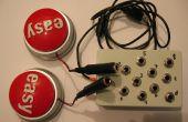 Eenvoudige knop muzikale Interface