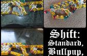 Shift: Standaard Pin Bullpup en Slingshot.