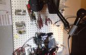 Eenvoudig DIY elektronica-Workspace