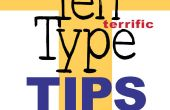 Typ tien geweldige Tips voor ontwerpers