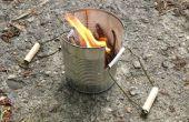 Blikje Camping kachel