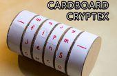 Kartonnen Cryptex Safe!