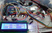 Auto datta logger met behulp van OBD-II-protocol (atmega 2560 + SD kaart + lcd 16 x 2)
