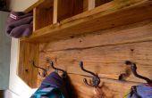 Boerderij kapstok van Pallet hout